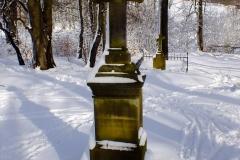 Cmentarz dolny w Ciechani.