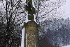 Krzyż przydrożny w Jasionce