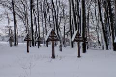 Groby cmentarza nr 53. Czarne