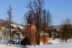 Blechnarka - murowana cerkiew z 1801 r.