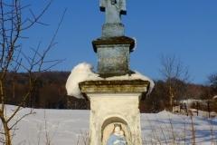 Przydrożny krzyż w Blechnarce.
