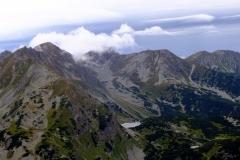 Przełęcz Smutna, Tri Kopy, Hruba Kopa, Banikov, Pachola, Spalena, Salatin.