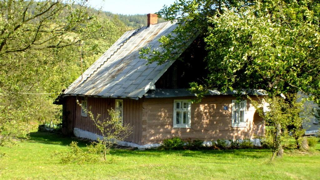 domek drewniany w Brzezowej