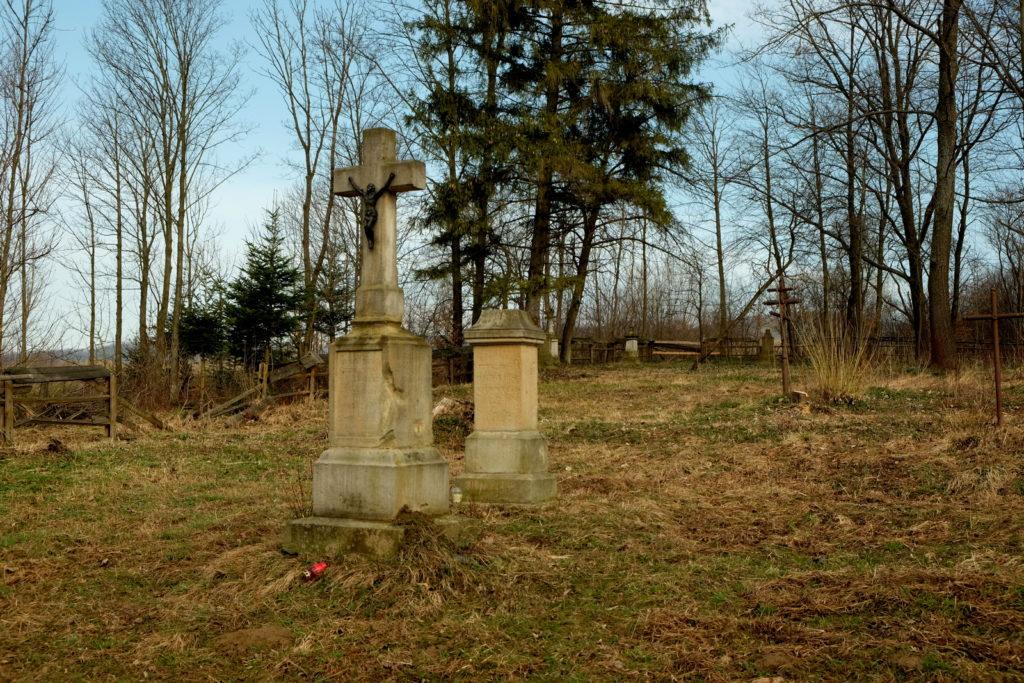 Cmentarz w Zawadce Rymanowskiej.
