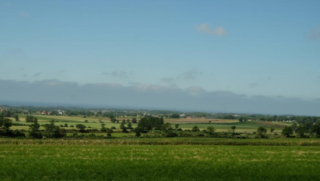 Krajobraz półwyspu Bjäre w okolicach Grevie.