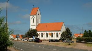 Torekov. Kościół Św. Thory (nowy) zbudowany w latach