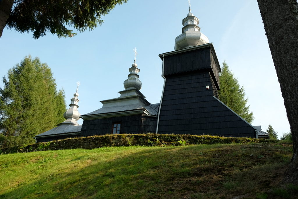 Czarna - dawna cerkiew greckokatolicka z 1764 r.