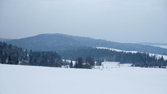Góra obszar nad Banicą.