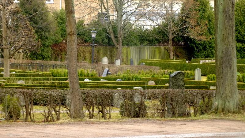 Cmentarz Östra Kyrkogården w Nykoping.