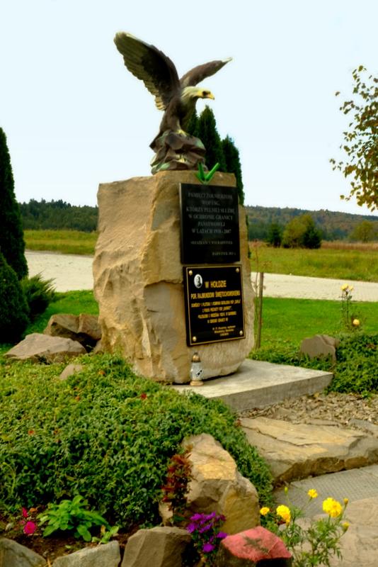 Pomnik w Barwinku