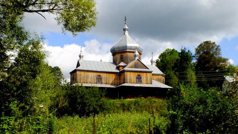 Cerkiew w Daliowej.